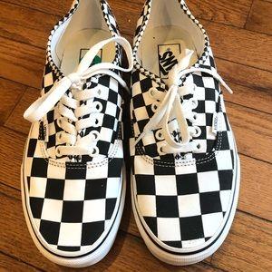 Vans Authentic Checkerboard Unisex Sneakers
